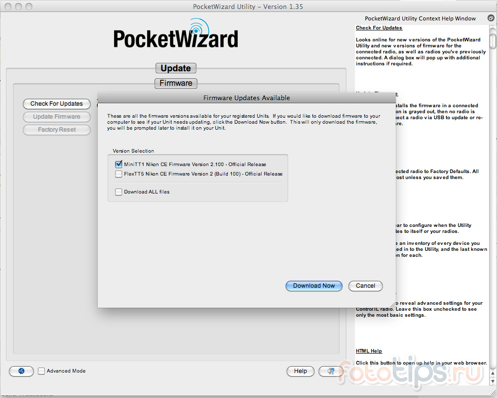 Обзор PocketWizard