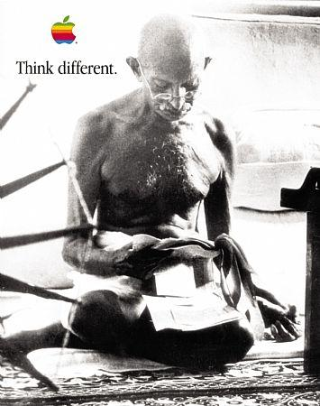 Mahatma Gandhi – Think Different