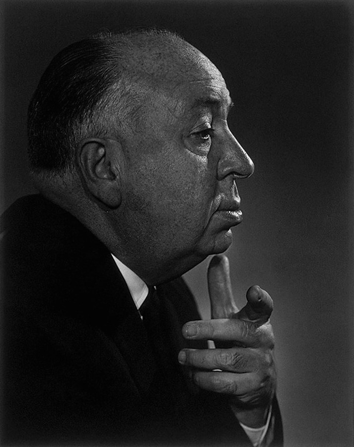 Alfred Hitchcock by Yousuf Karsh