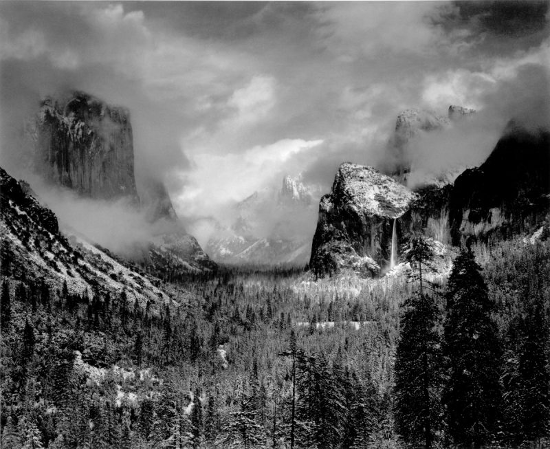 Ansel-Adams_Clearing Winter Storm