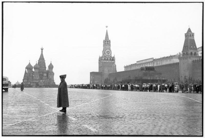 SOVIET UNION. Moscow. Red Square. The Kremlin. 1954.