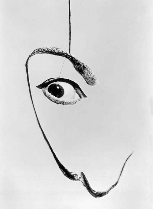 Spanish painter Salvador DALI. 1954.