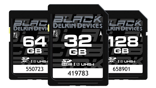 Delkin Devices Black