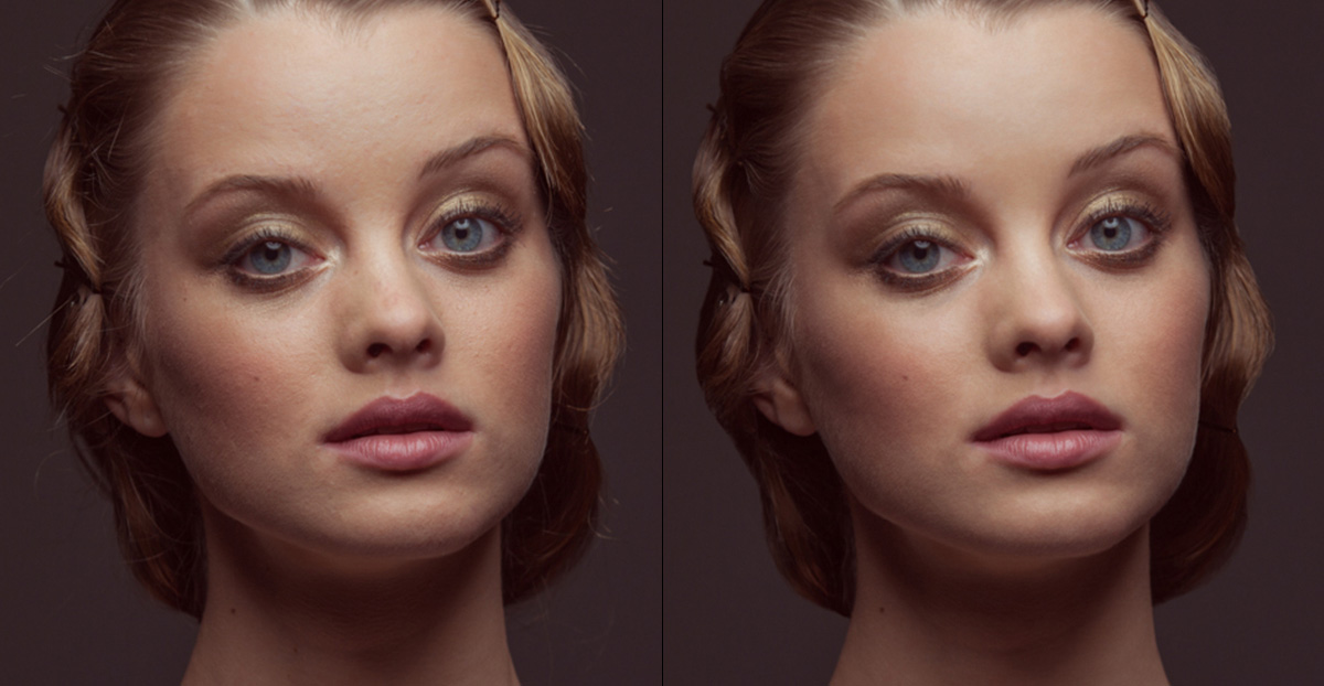 Бесплатная ретушь портретных фотографий Онлайн
