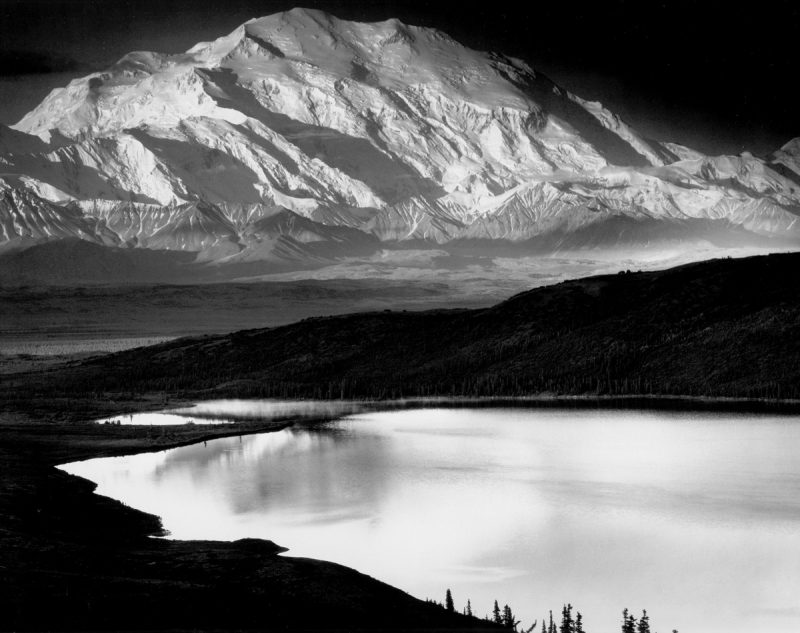 Ansel-Adams_Mount-McKinley-and-Wonder-Lake-1948