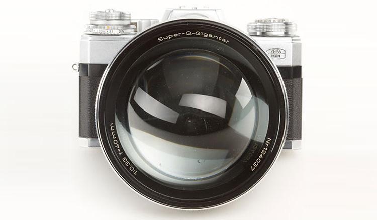 Carl Zeiss Super Q Gigantar 40мм f/0,33