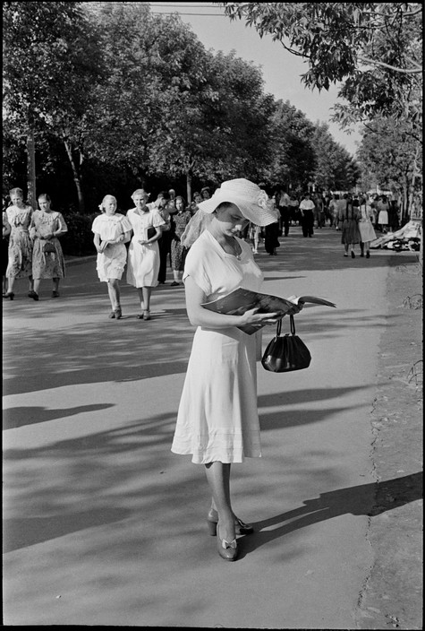 SOVIET UNION. Moscow. Gorky Park of Culture and Rest. 1954.