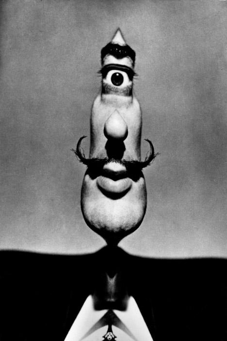 Spanish Surrealist Painter Salvador DALI. 1954