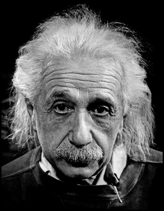 USA. Princeton, New Jersey. 1947. American Physicist & mathematician Albert EINSTEIN at his home