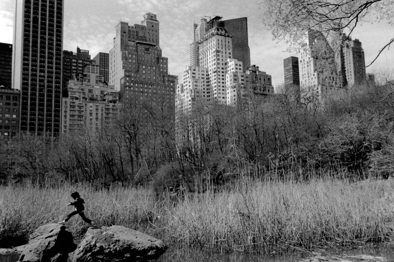 USA. New York city. Central Park. 1988