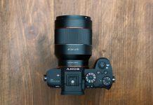 Samyang AF 50mm f/1.4 FE c Sony A7R II