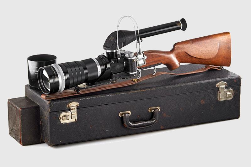 E. Leitz New York Leica Gun RITEL