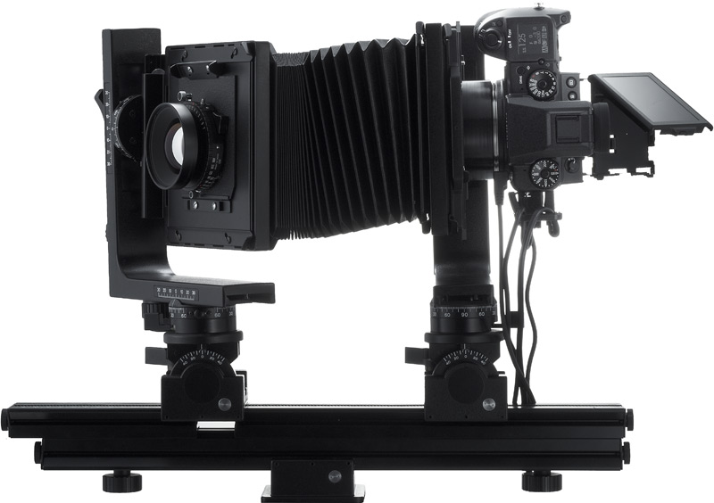 Fujifilm GFX 50S c мехами