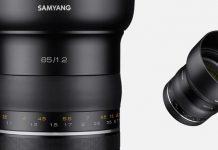 Samyang 85mm f/1.2