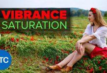 Разница между Saturation и Vibrance