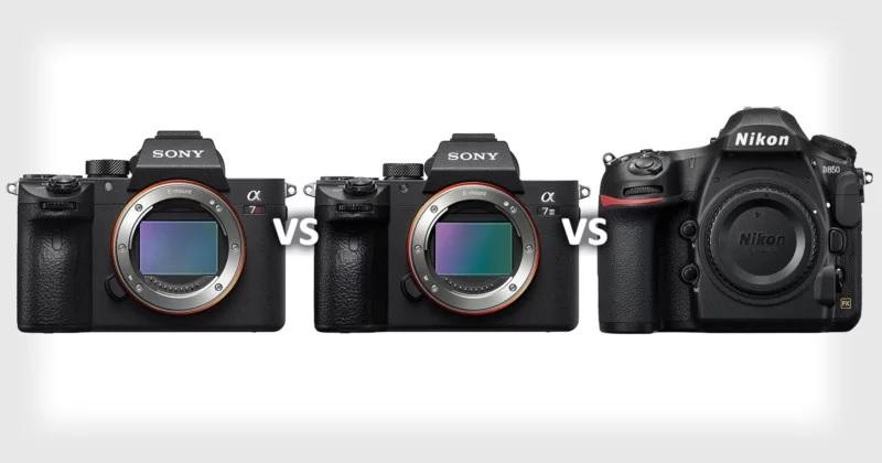 Сравнение Sony a7R III, Sony a7 III и Nikon D850 - Fototips ru