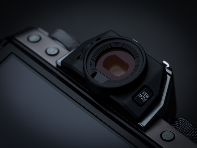 Fujifilm X-T100 press images, EVF