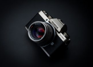 Fujifilm X-T100 press images, gray