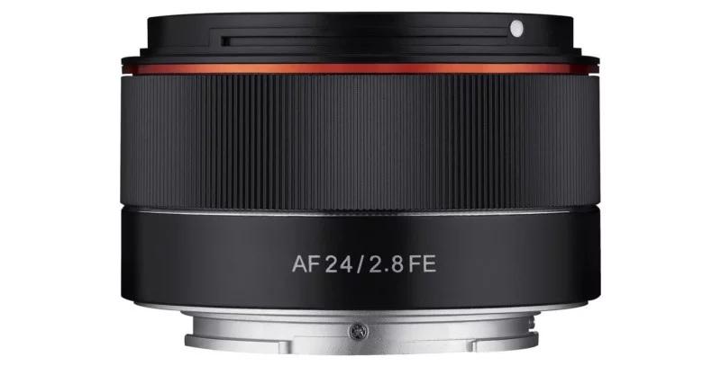 Анонс Samyang AF 24mm f/2.8 для Sony FE