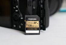 Обзор Toshiba EXCERIA PRO 128 gb N501