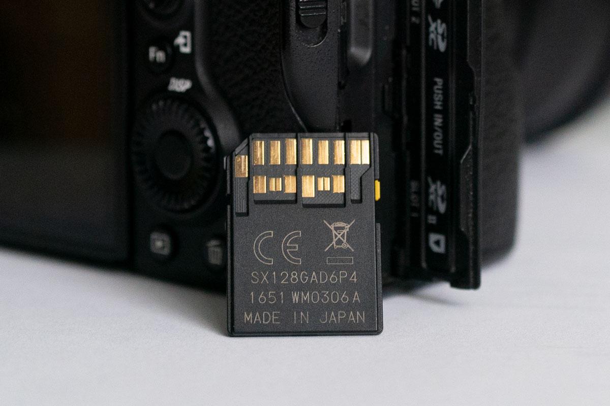 Toshiba EXCERIA PRO UHS-II
