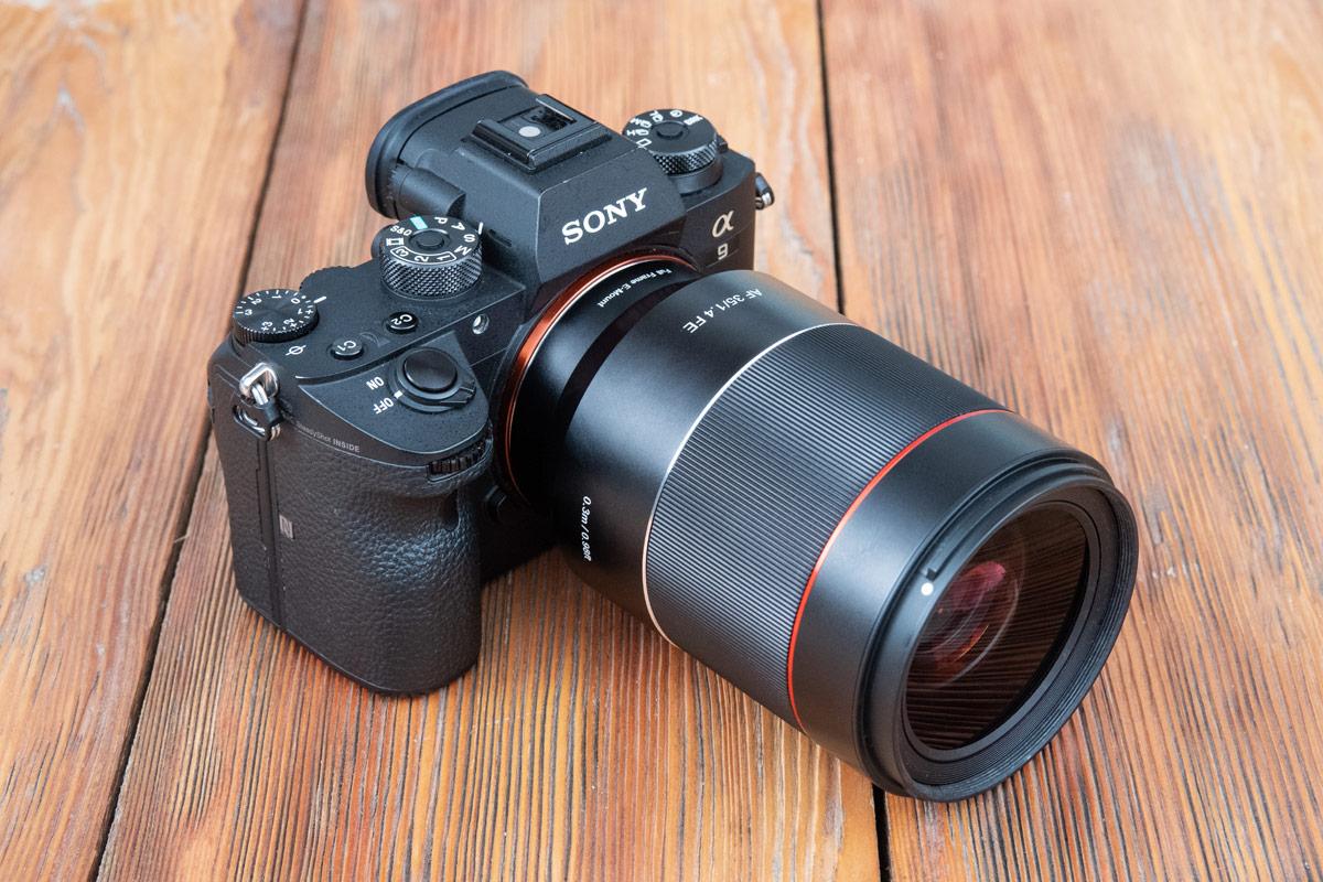 Корпус Samyang AF 35mm F1.4 FE