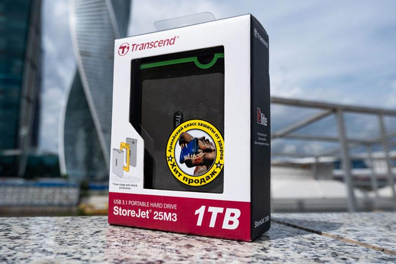 Упаковка Transcend StoreJet 25M3S