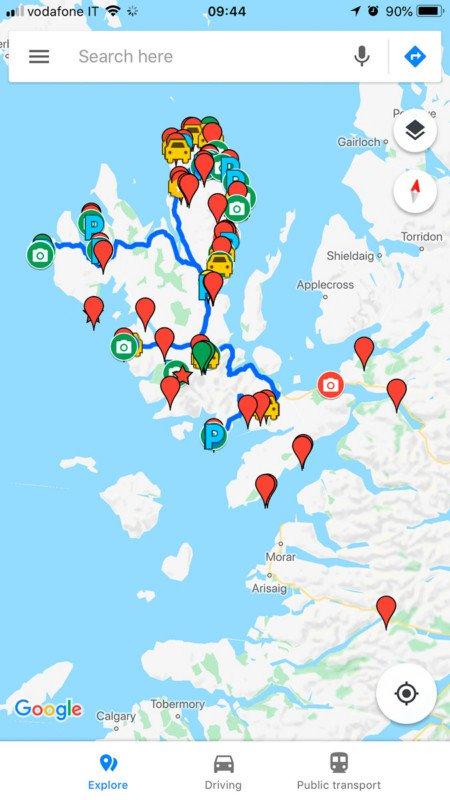 Приложение Google Карты