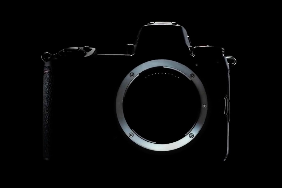 Силуэт камеры Nikon Z