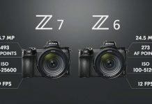 Анонс Nikon Z6 и Nikon Z7