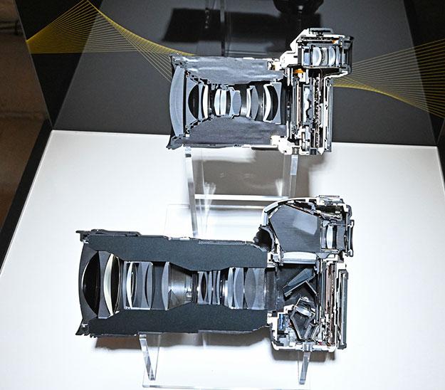 Сравнение Nikon Z7 и D850