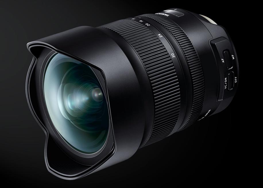 Анонс широкоугольного зума Tamron SP 15-30mm F/2.8 Di VC USD G2