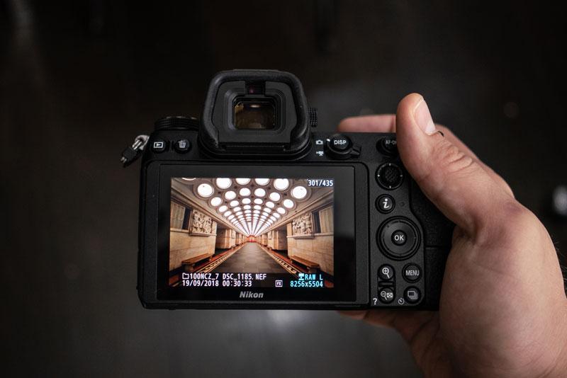 Хват Nikon Z7
