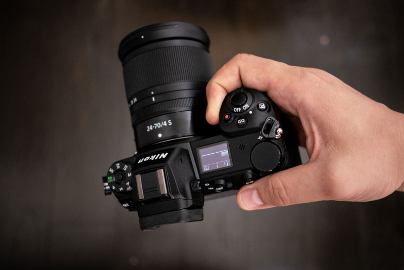 Хват Nikon Z7 - 3