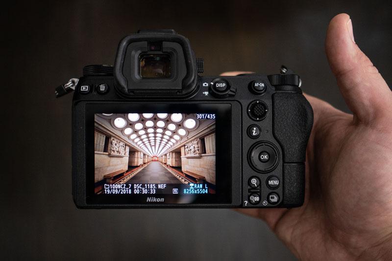 Хват Nikon Z7 - 2