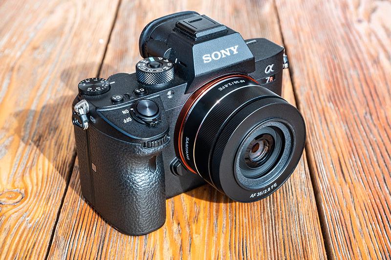 Корпус Samyang AF 35mm f2.8 FE