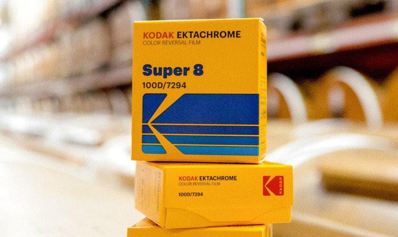 Начались поставки Kodak Ektachrome