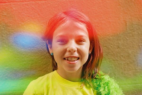 Jelly - новая пленка от Dubblefilm с предэкспонированными цветами