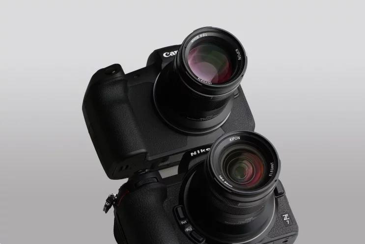 KIPON анонсировала объективы для Canon R и Nikon Z