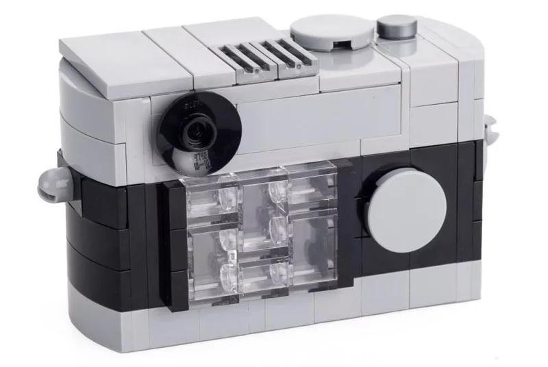 Leica начала продажи наборов LEGO с Leica M