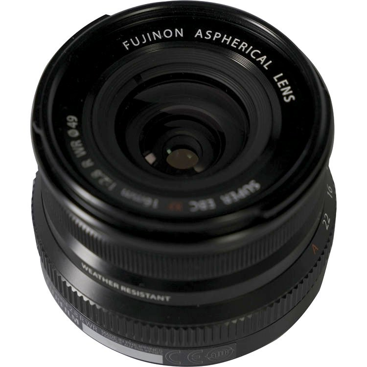 Анонс FUJINON XF 16mm f/2.8 R WR