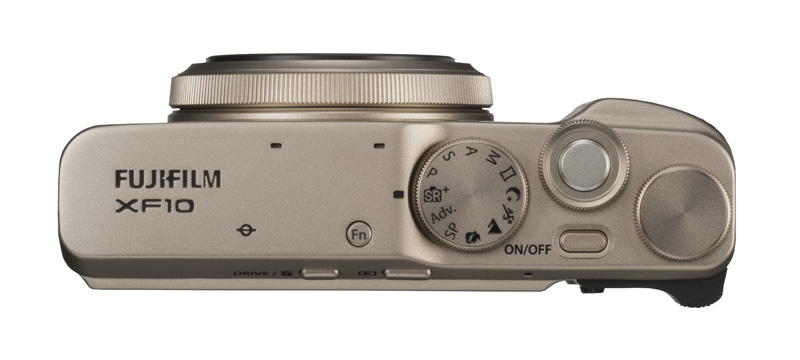 Fujifilm XF10 верхняя панель