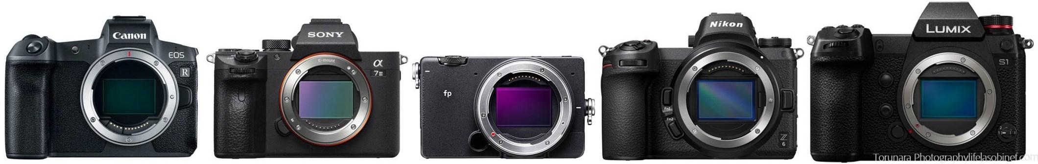 Sigma FP и все-все-все: сравниваем размеры полнокадровых беззеркалок