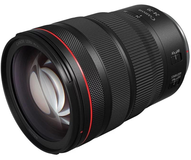 Анонс объективов Canon: RF 15-35mm f/2.8L IS и RF 24-70mm f/2.8L IS