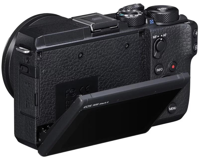 Анонс Canon M6 Mark II