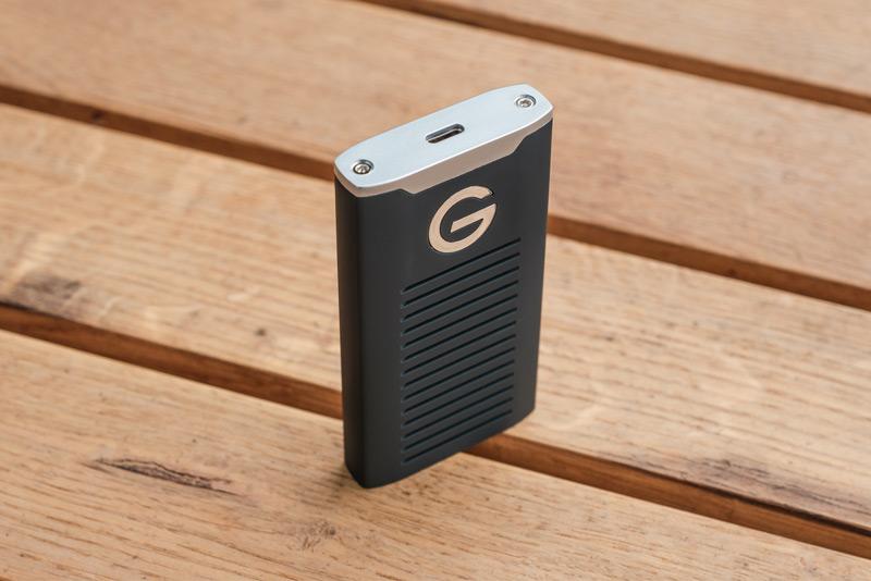 Обзор G-DRIVE SSD порт