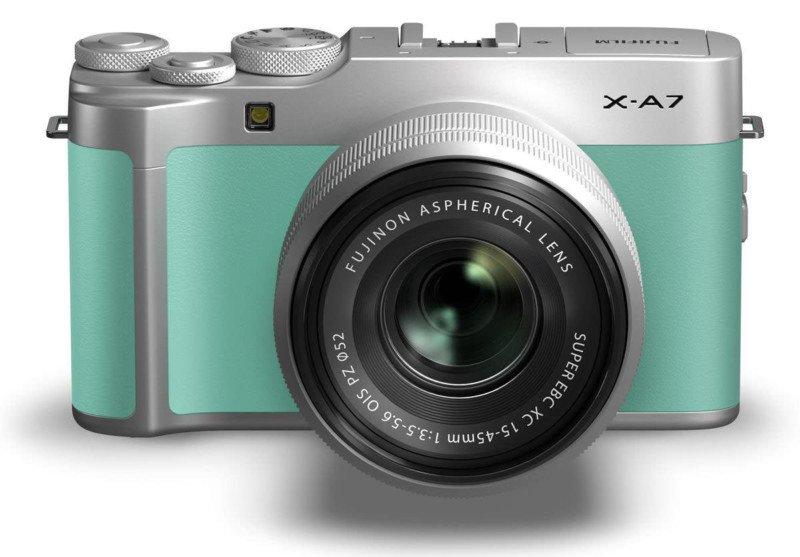 Анонс Fujifilm X-A7
