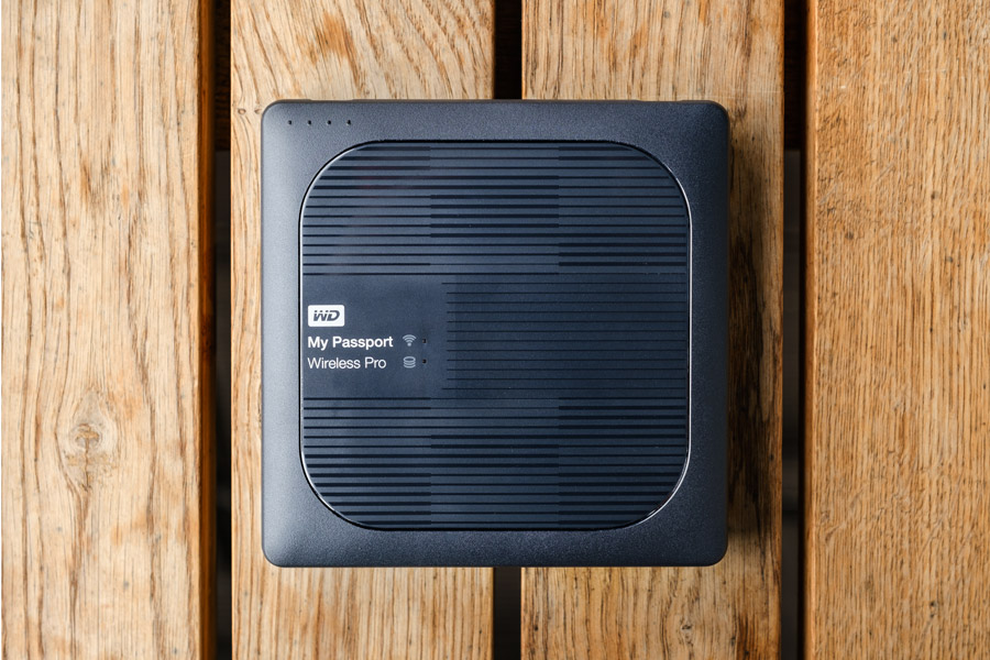 Обзор WD My Passport Wireless Pro