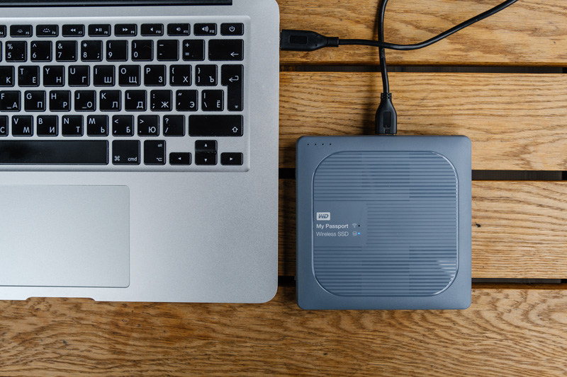 WD My Passport Wireless SSD mac