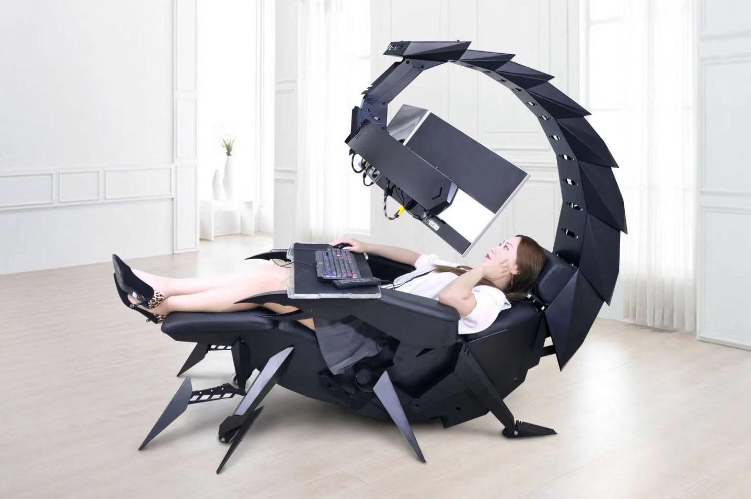 """""""Кресло суперзлодея"""" для удобной обработки фотографий"""